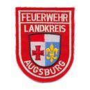 feuerwehr-landkreis-augsburg-rot-silber-gestickt-stoff